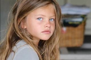 Takto vyzerala Thylane, keď mala 4 roky.