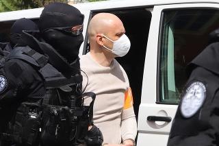 Obvinený Milan Mihálik