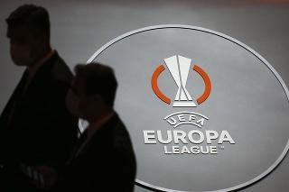 Logo pred žrebom skupinovej fázy Európskej ligy v Istanbule v piatok 27. augusta 2021.