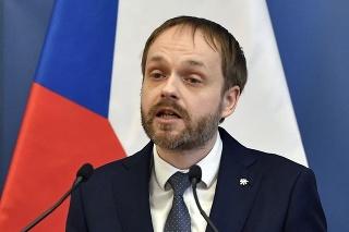 Minister zahraničných vecí ČR Jakub Kulhánek.