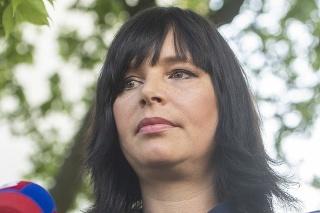 Vicepremiérka a predsedníčka strany ZA ĽUDÍ Veronika Remišová