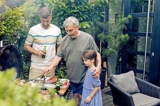 Dvaja z troch 50- tnikov považujú čas strávený s rodinou za svoj hlavný záujem.