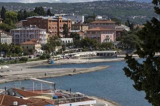 Chorvátske letovisko Opatija na Istrii