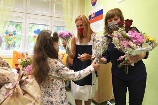 Otvorenie nového školského roka na Základnej škole Hroncova 23 v Košiciach
