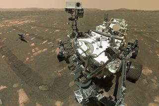 Robotické vozidlo Perseverance začalo vŕtať do povrchu planéty Mars