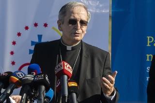 Bratislavský biskup Mons. Stanislav Zvolenský