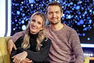 Moderátor je ženatý s Adelou Vinczeovou.