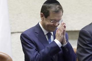 Izraelský prezident Jicchak Herzog.