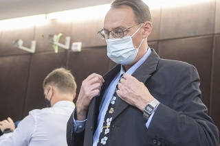 Bývalý generálny prokurátor Dobroslav Trnka na súde.