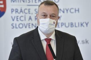 Minister práce, sociálnych vecí a rodiny SR Milan Krajniak (Sme rodina)