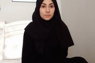 20-ročná študentka žurnalistiky Najma Sadeqi nahrala svoje záverečné video len štyri dni pred osudovými okamihmi.