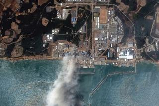 Elektráreň Fukušima I: Po zatopení a výbuchu v reaktoroch.