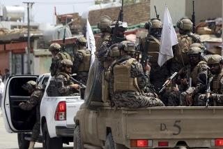 Bojovníci špeciálnych síl Talibanu