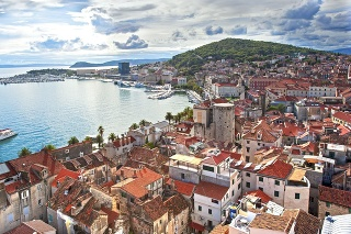 View from the Split cathedral