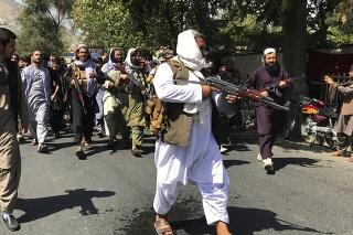 Taliban spustil streľbu s cieľom rozohnať protipakistanskú demonštrácie v Kábule.