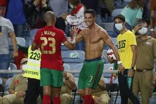 Cristiano Ronaldo sa teší z gólu!