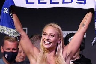 Austrálska boxerka Ebanie Bridgesová (34) si na váženie rada zoberie sexi bielizeň.