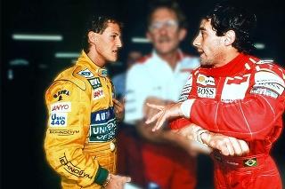 Schumi a Senna.