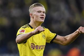 Nórska hviezda nemeckej Borussie Dortmund Erling Haaland.