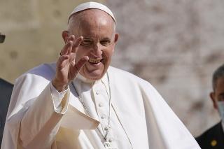 Pápež František na návšteve Slovenska.