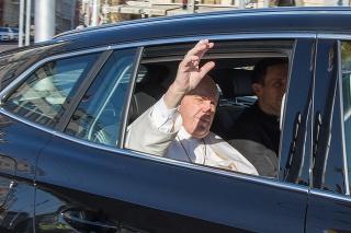 Návšteva pápeža: