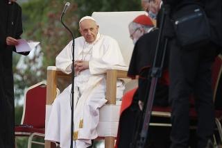 Pápež František na košickom sídlisku Luník IX.