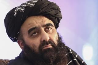 Úradujúci minister zahraničných vecí talibanského režimu Amír Chán Muttakí.