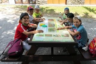 Podpora do 20-tisíc - Ekoučebňa na Morskom oku (okres Sobrance) - výuka žiakov priamo v prírode.