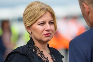 Prezidentka Zuzana Čaputová