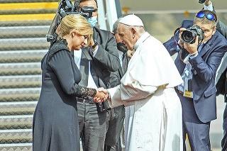 O smutnej udalosti v prezidentkinej rodine sa František dozvedel ešte pred svojím odchodom.