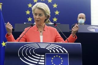 Predsedníčka Európskej komisie (EK) Ursula von der Leyenová.