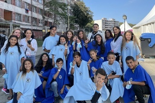 Školáci spievali pápežovi