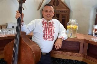 Vladimír Maťaš (43) stále rozdával úsmev a dobrú náladu.