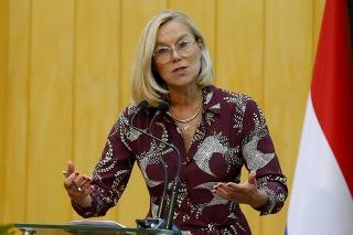 Holandská ministerka zahraničných vecí Sigrid Kaagová odstúpila z funkcie.