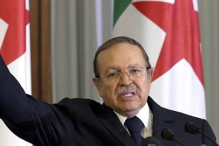 Bývalý alžírsky prezident Abdal Azíz Buteflik.