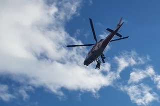 Horskí a leteckí záchranári pomáhali dvom maďarským turistom.