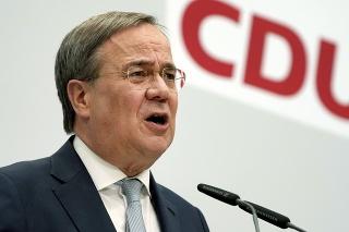 Predseda Nemeckej kresťanskodemokratickej únie Armin Laschet