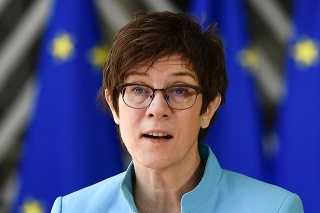 Nemecká ministerka Annegret Krampová- Karrenbauerová.