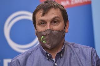 Predseda mimoparlamentnej politickej stranu SPOLU - občianska demokracia Juraj Hipš