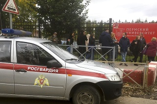 Štátna univerzita v meste Perm, v ktorej došlo k streľbe.