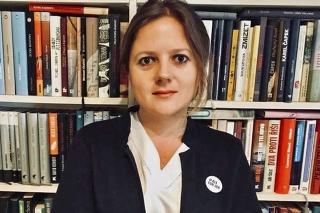 Monika Tódová, redaktorka Denníka N.