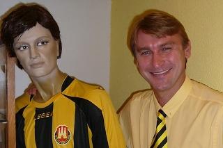 Ľubomír Luhový, bývalý skvelý československý futbalista.