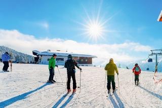 Slovenskí lyžiari