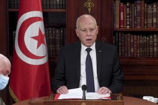 Prezident Tuniska Kajs Saíd.