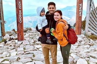 S manželom Adriánom má synčeka Noela.