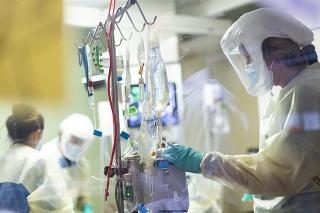 Väčšina hospitalizovaných