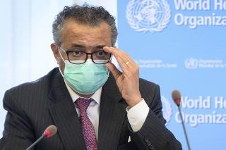Šéf Svetovej zdravotníckej organizácie (WHO) Tedros Adhanom Ghebreyesus.