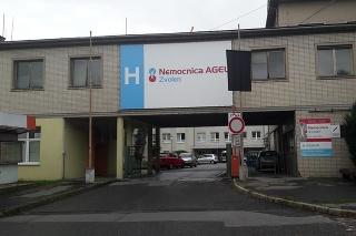 Nemocnica Zvolen.