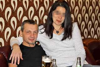 Ivan (52) s manželkou Melindou.