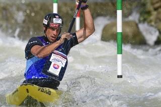 Na snímke slovenský reprezentant Alexander Slafkovský.